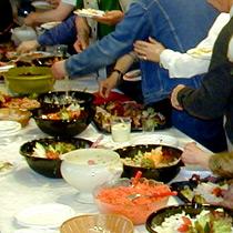 Organisation de r ception buffet repas debout - Repas de fete leger ...