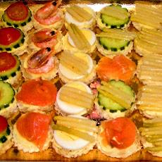 Recettes canapes pour buffet 28 images recettes de for Canape aperitif froid